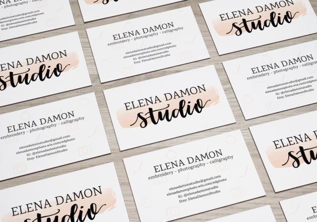 EDS business card mockup 1