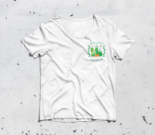 RA training Logo T Shirt Mockup